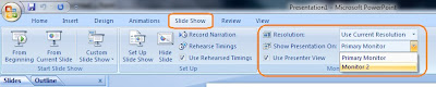 Tips Presentasi Powerpoint dengan membagi 2 Layar monitor (Multi layer)
